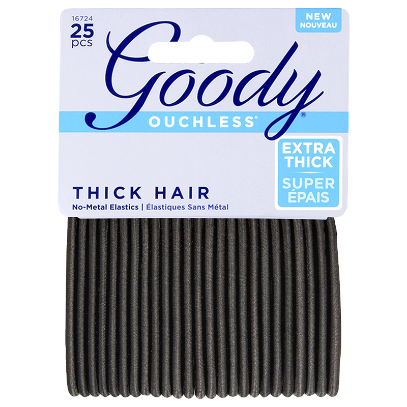 Goody Ouchless No Metal Elastics Thick Hair - 16724 - 25's