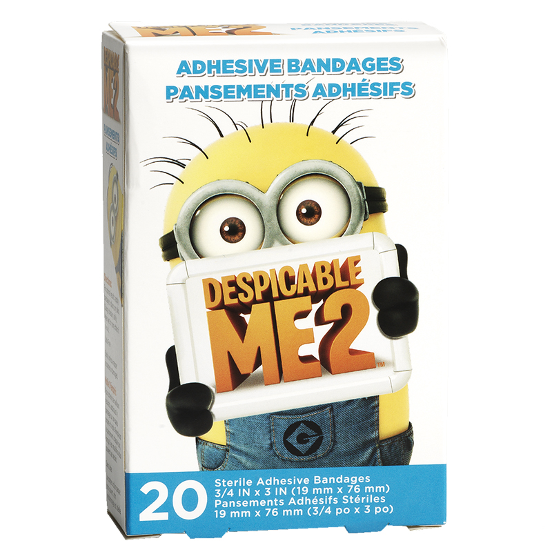 Despicable Me 2 Adhesive Bandages - 20's