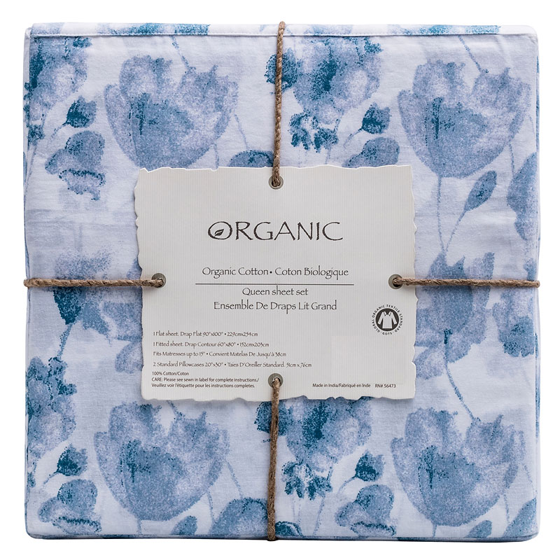 Organic Sheet Sets - King and Queen