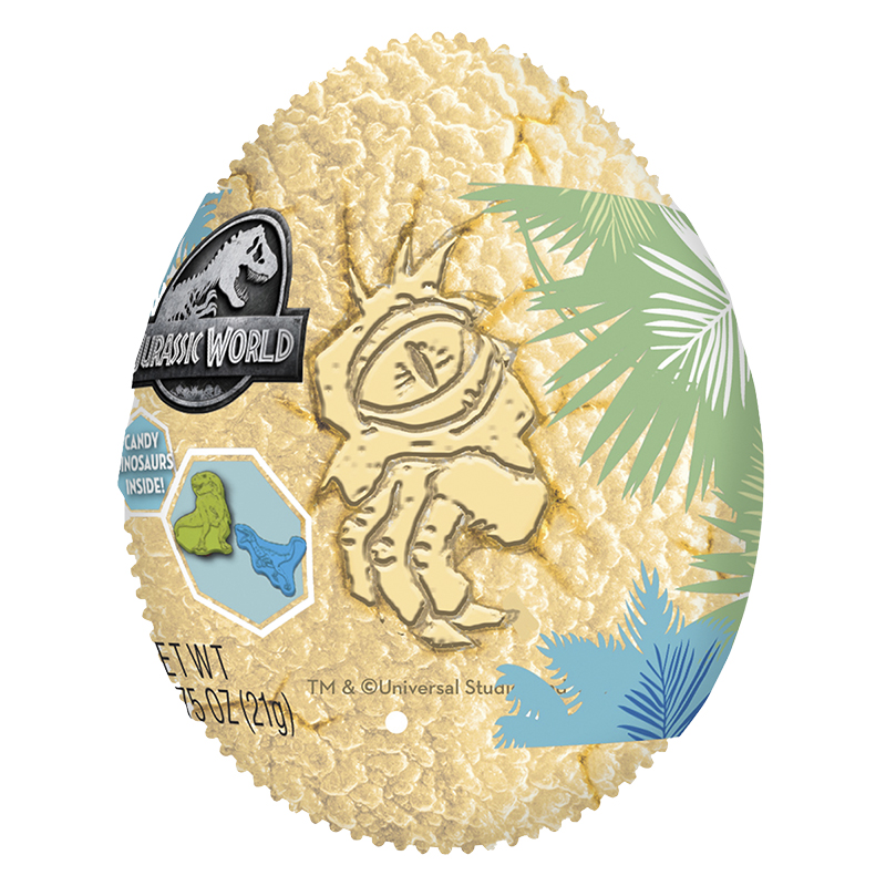 Jurassic World Egg with Candy Inside - 21g