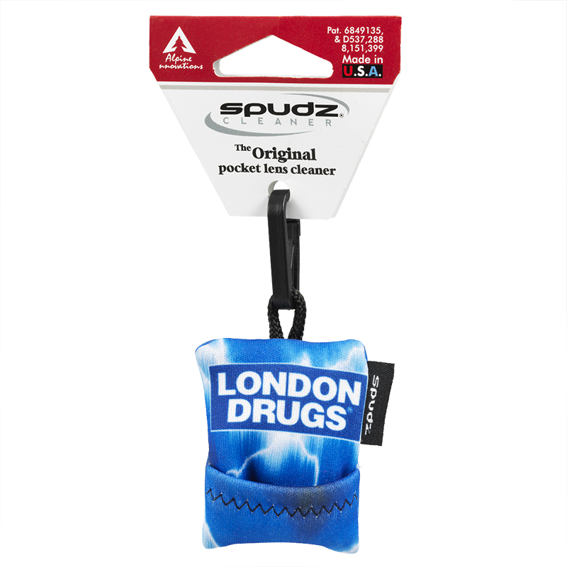 London Drugs Spudz Cloth - Blue Lightning - SUFDO1-G4