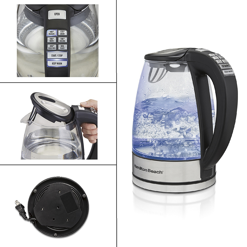 Hamilton Beach Variable Temperature Kettle - 1.7L - 40941C