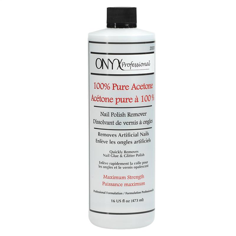 Onyx 100% Pure Acetone Nail Polish Remover - 16oz | London Drugs