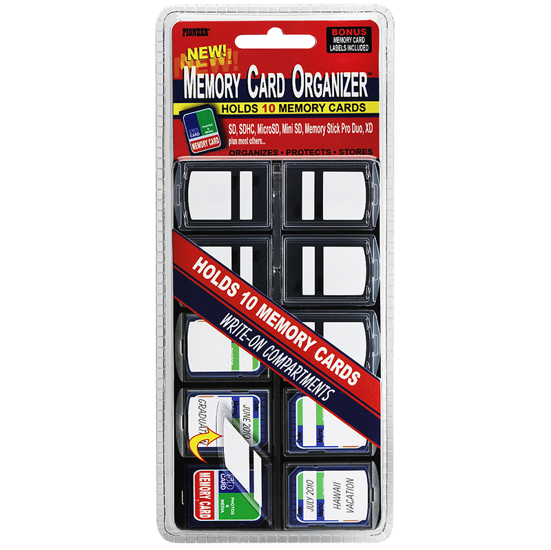 Pioneer Memory Card Storage Case - MCO-10