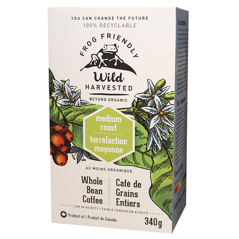 Frog Friendly Coffee - Whole - Medium Roast - 340g