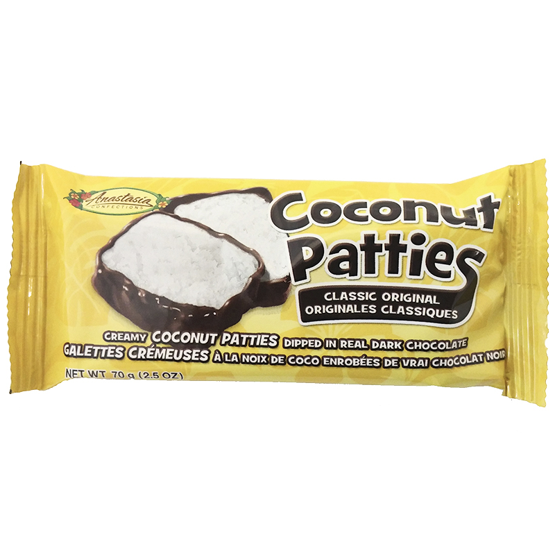 Anastasia Coconut Patties - 70g