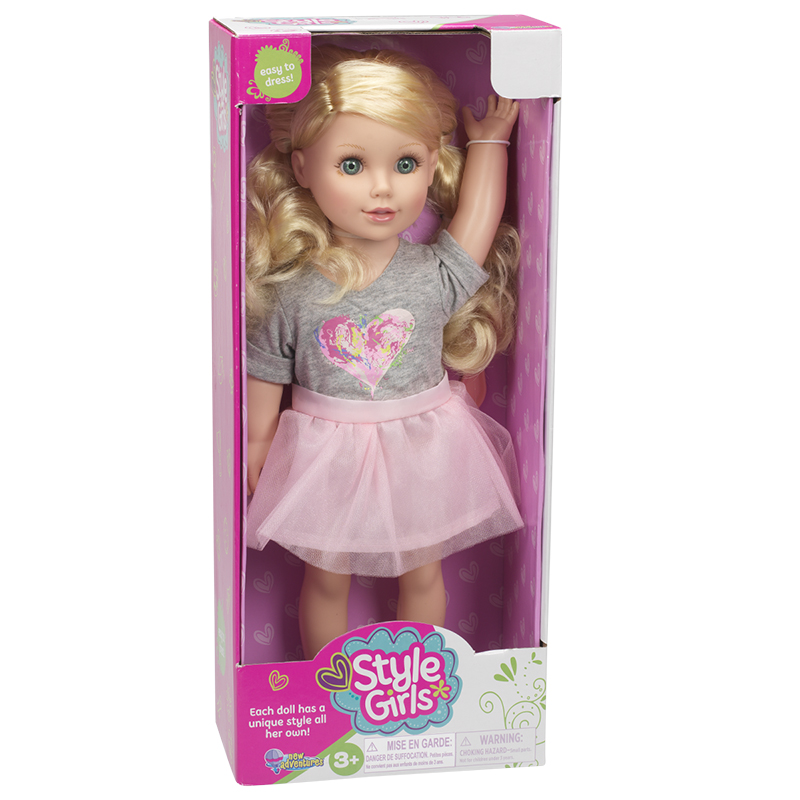 Style Girls Poseable Doll - Assorted