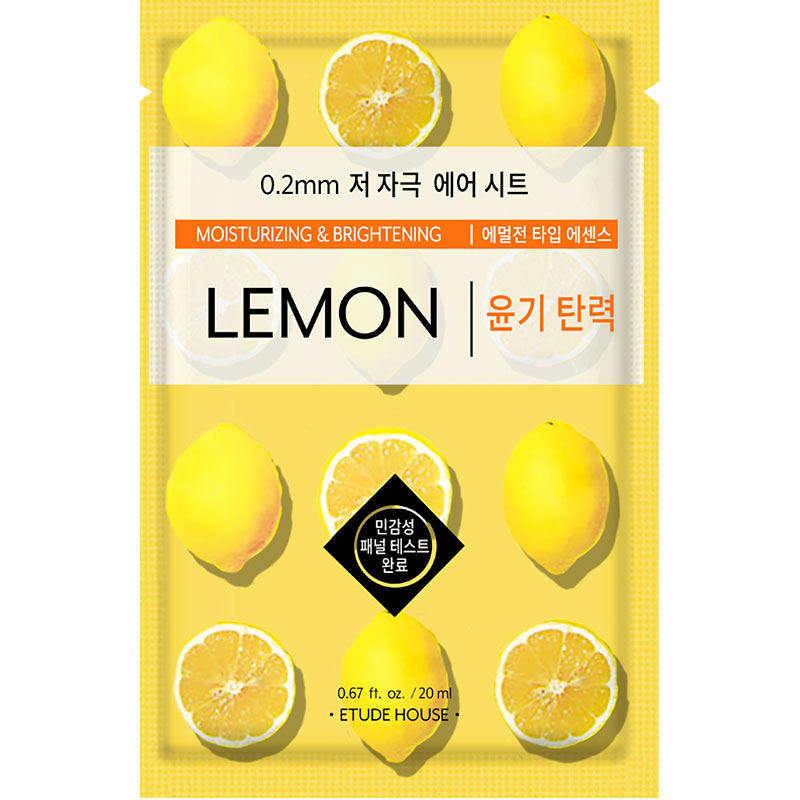 Etude House Mask - Lemon - 20ml