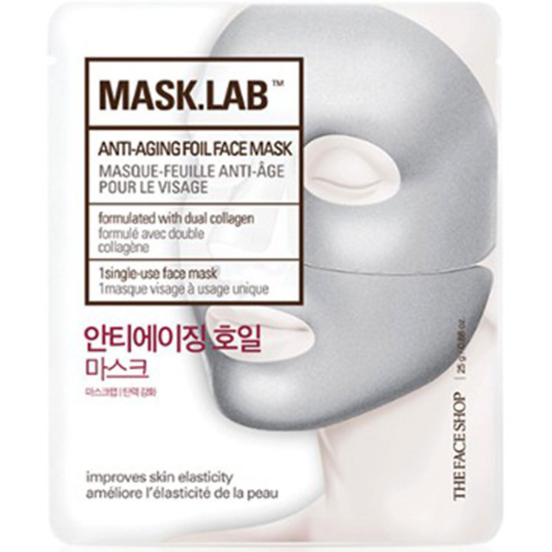MASK.LAB Anti-Aging Foil Face Mask - 25g