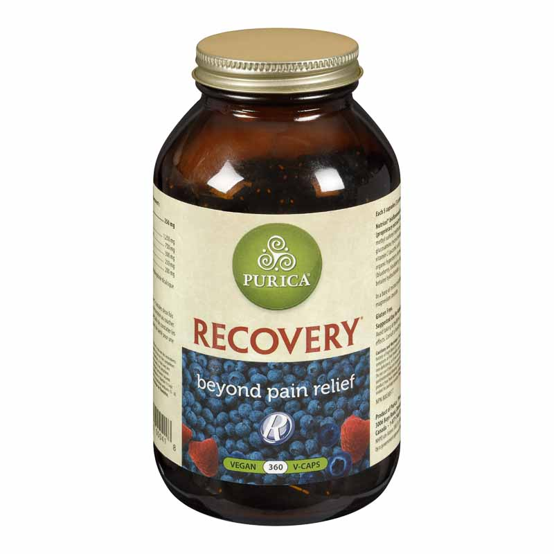 Purica Recovery Extra Strength Beyond Pain Relief Capsules - 360's