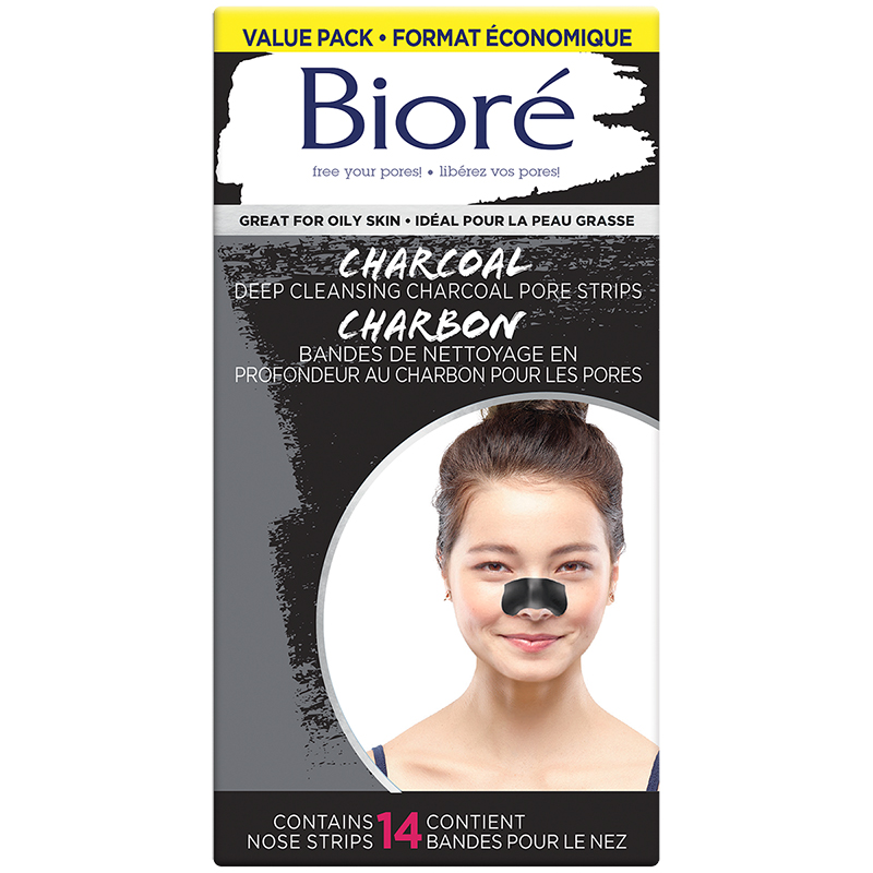 Biore Deep Cleansing Charcoal Pore Strips - 14's
