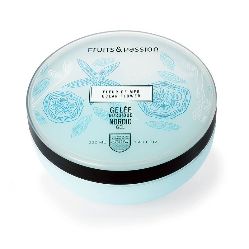 Fruits & Passion Nordic Gel - Ocean Flower - 220ml