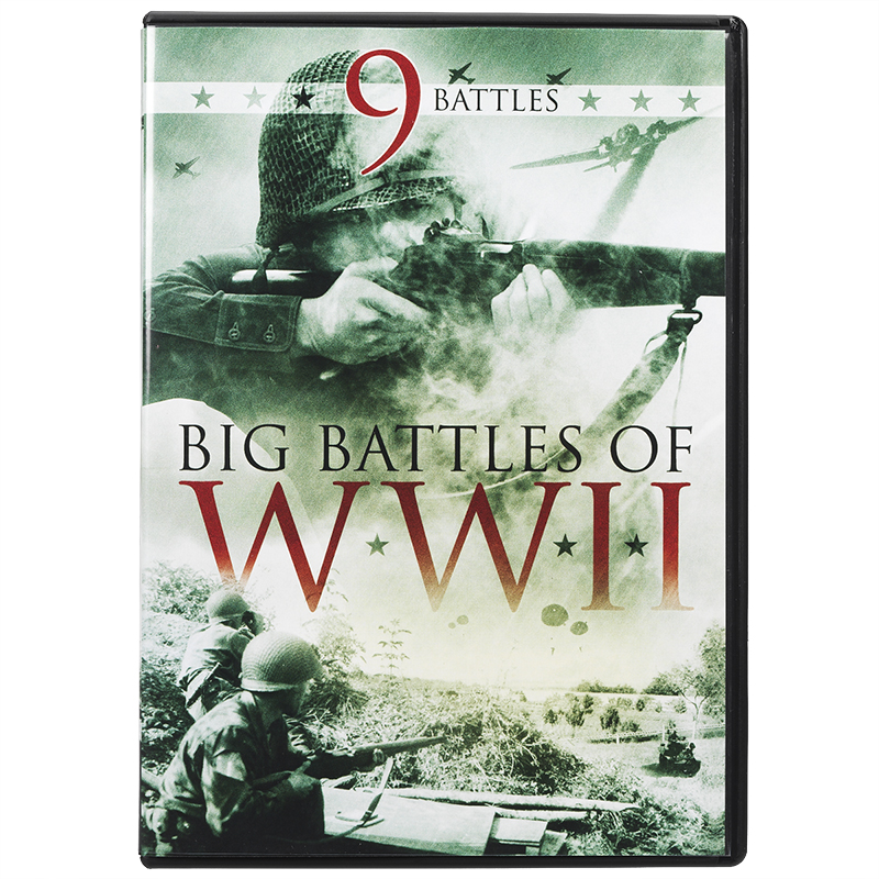 Big Battles of WWII - DVD