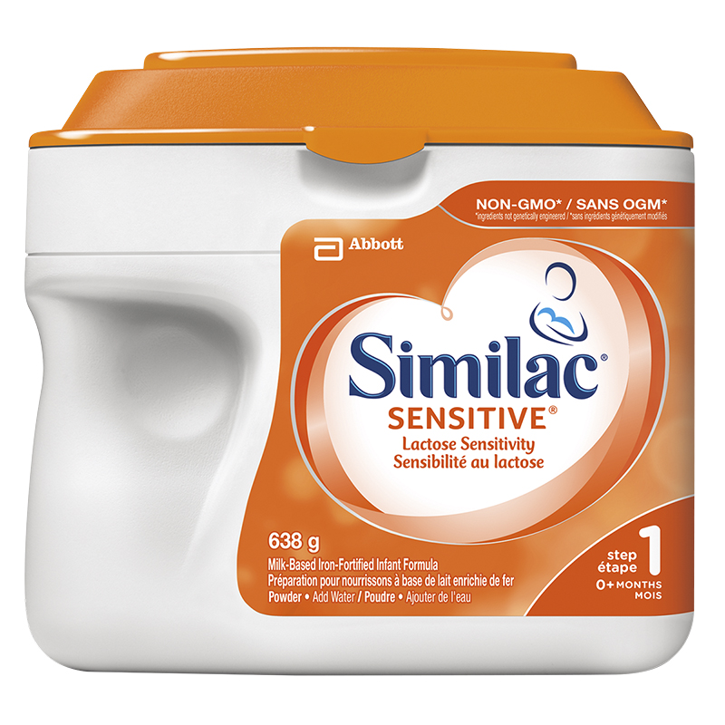 Similac Sensitive - Lactose-Free - Powder - 638g