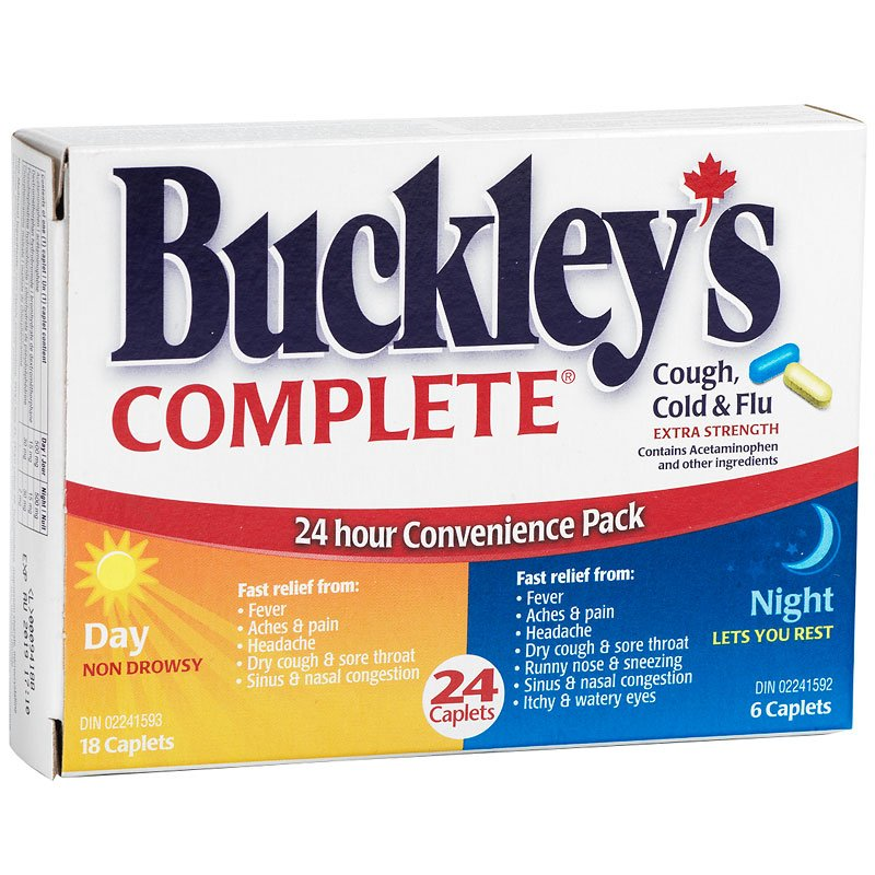 Buckleys Cough and Cold Combo - 24