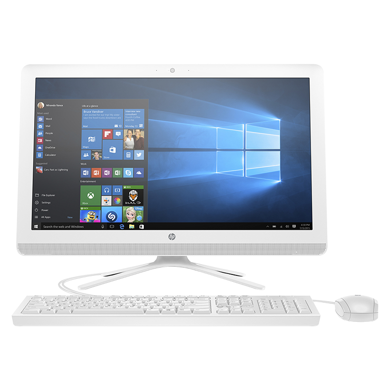 HP All-in-One Desktop Computer 24-g010 - 24 Inch - AMD A8 - V8N94AA#ABA
