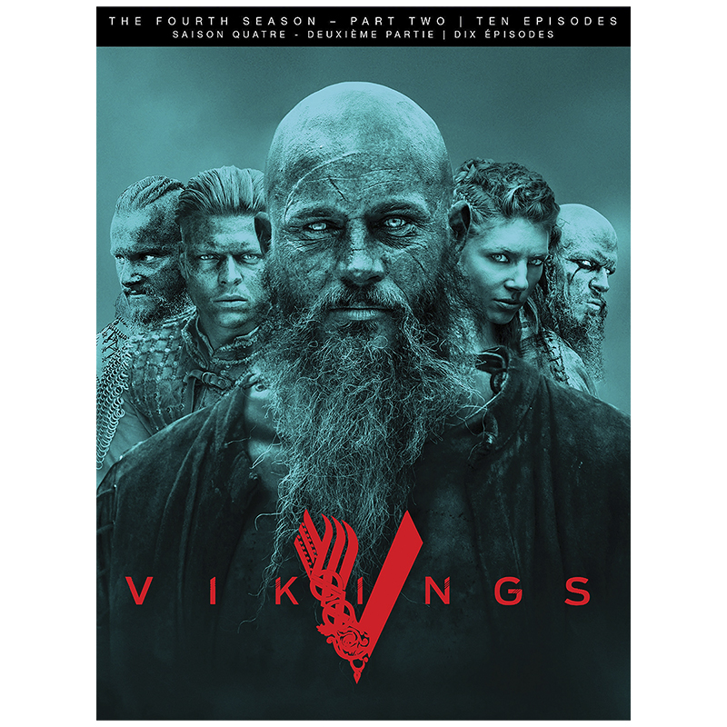 Vikings - Season 4: Part 2 - DVD