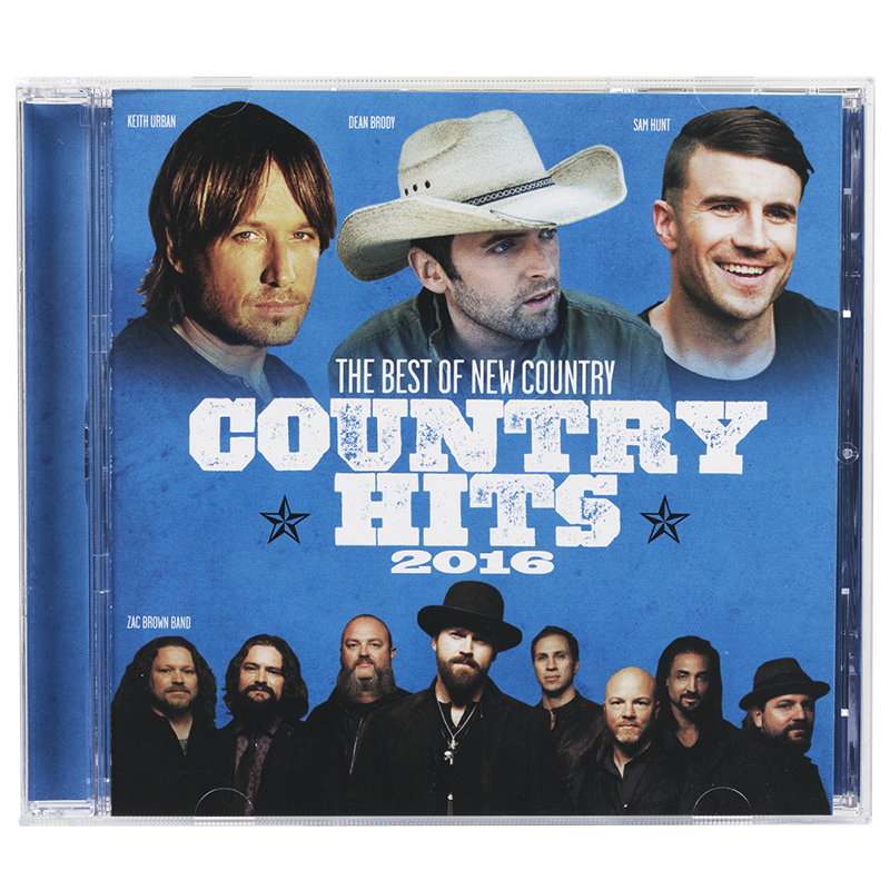 Various Artists - Country Hits 2016 - CD