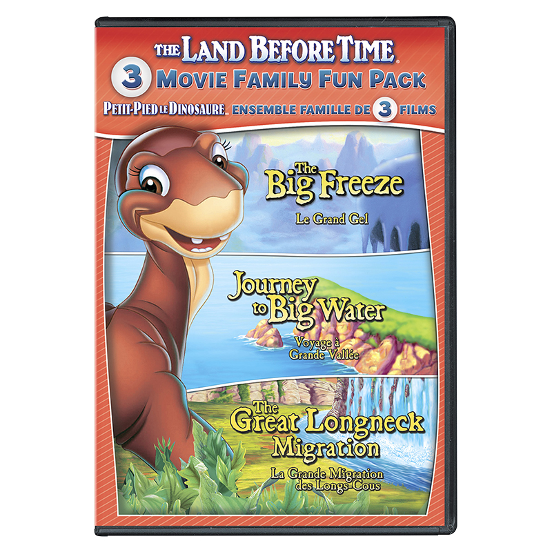 The Land Before Time VIII-X: 3 Movie Family Fun Pack - DVD