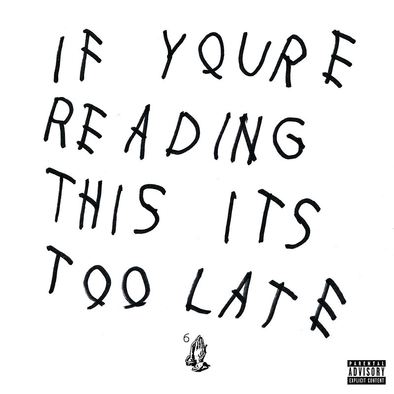 Drake - If You're Reading This It's Too Late - 2 LP Vinyl
