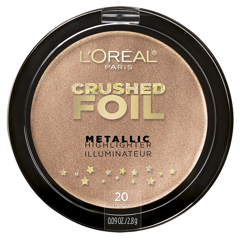 L'Oreal Crushed Foil Metallic Highlighter - Gilded Glow