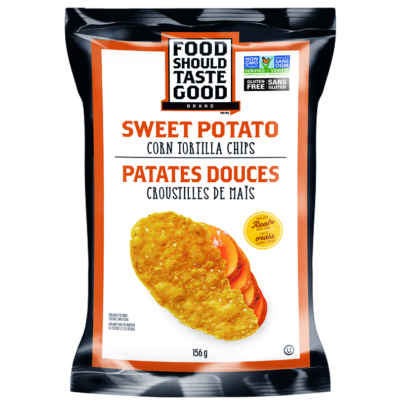 Food Should Taste Good Tortilla Chips - 156g - Sweet Potato