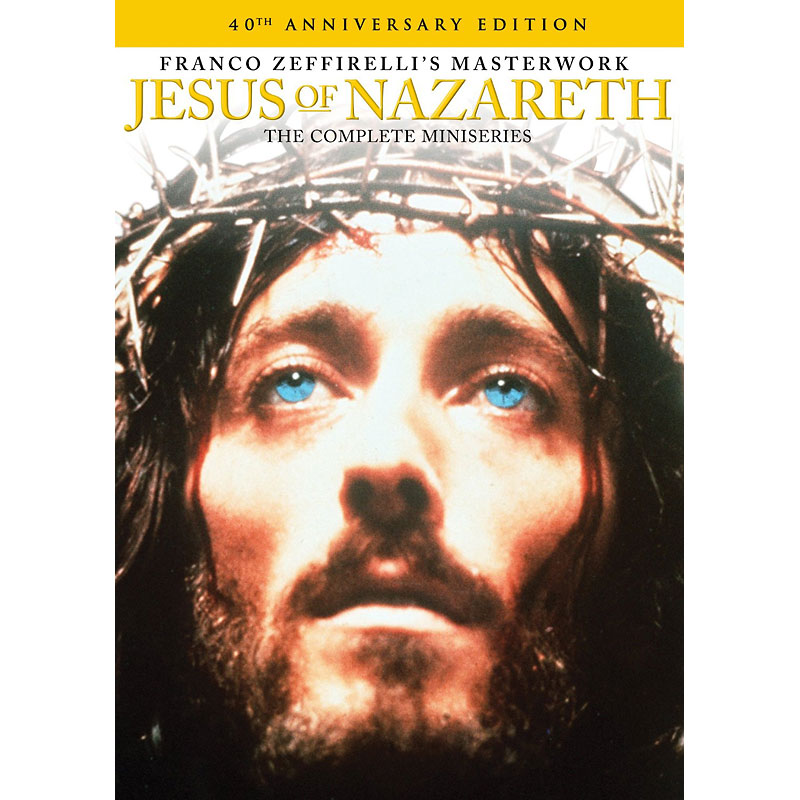 Jesus of Nazareth: The Complete Miniseries - DVD