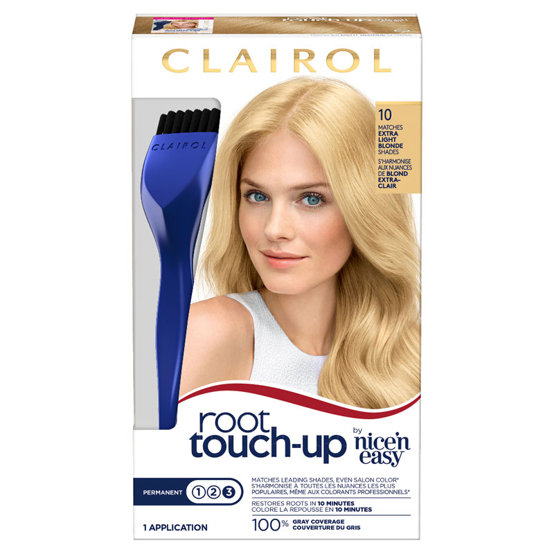 Clairol Nice N Easy Root Touch Up 10 Extra Light Blonde London
