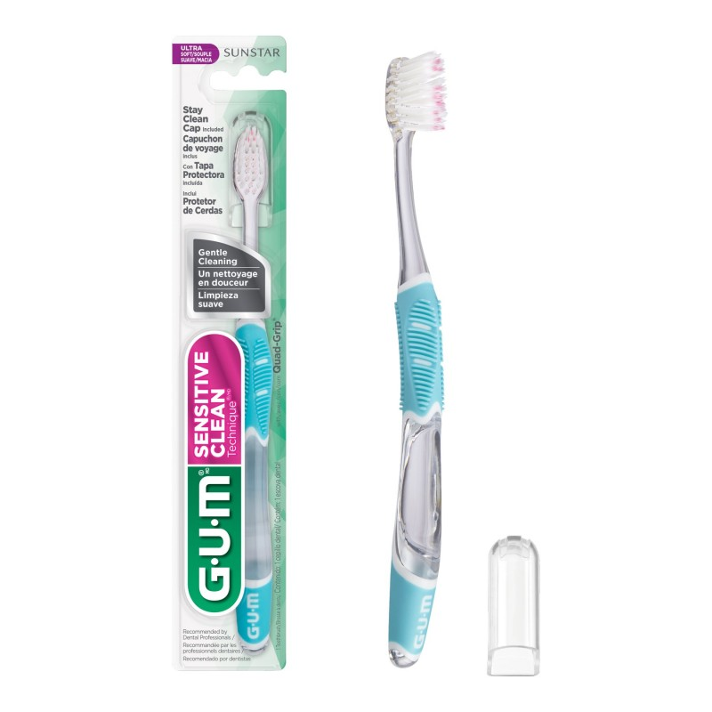 G.U.M. Technique Sensitive Care Compact Head Toothbrush - Ultrasoft