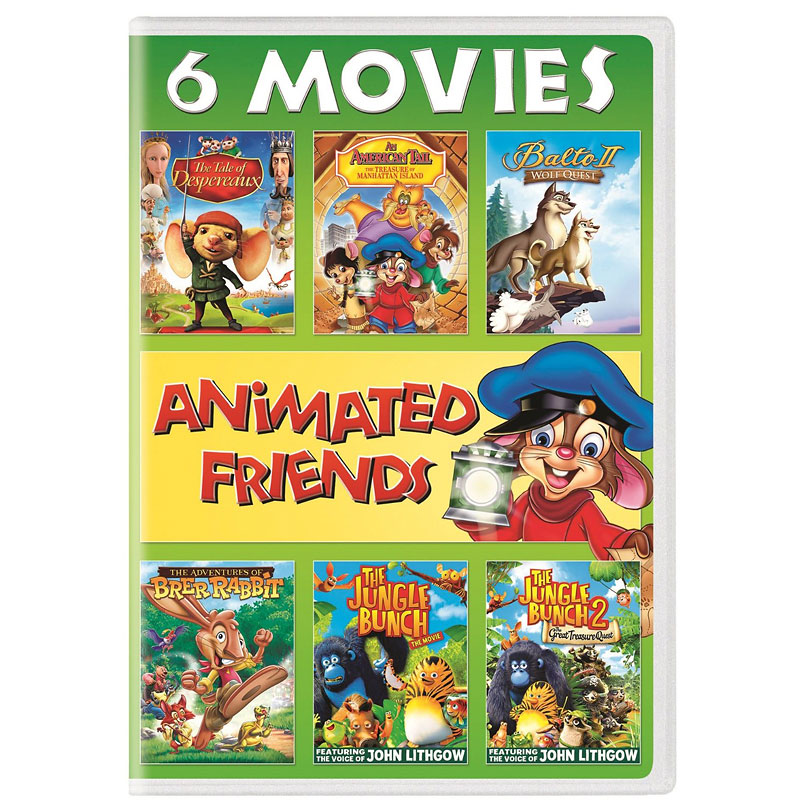 Animated Friends 6 Movie Collection - DVD