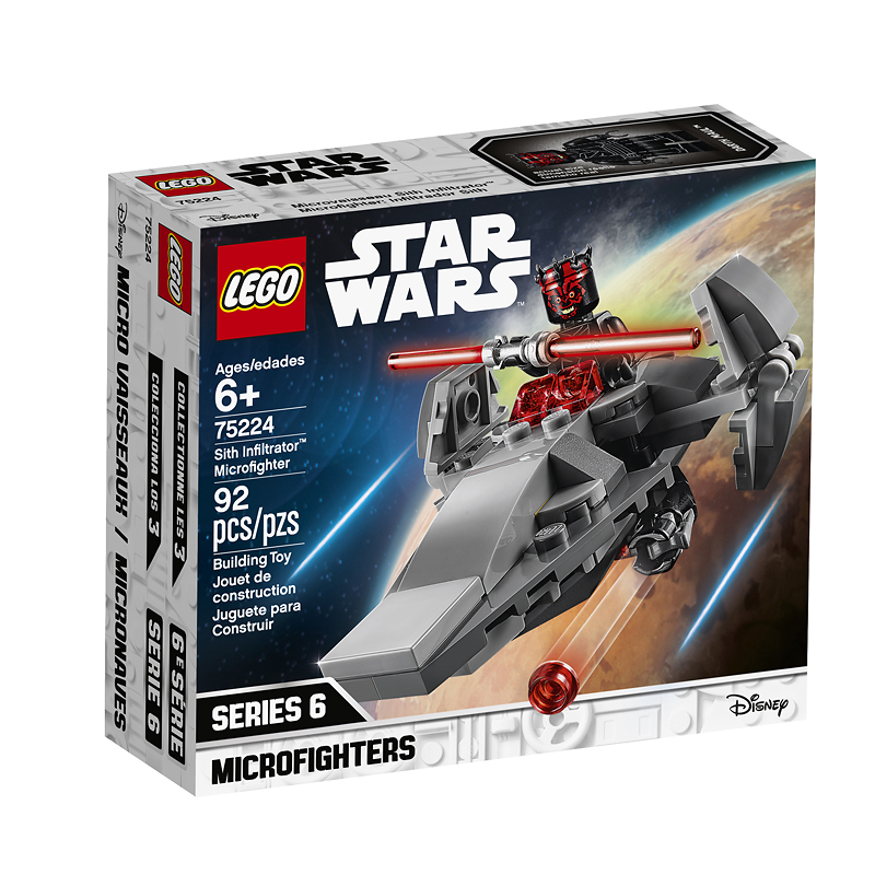 LEGO® Star Wars - Sith Infiltrator Microfighter - 75224
