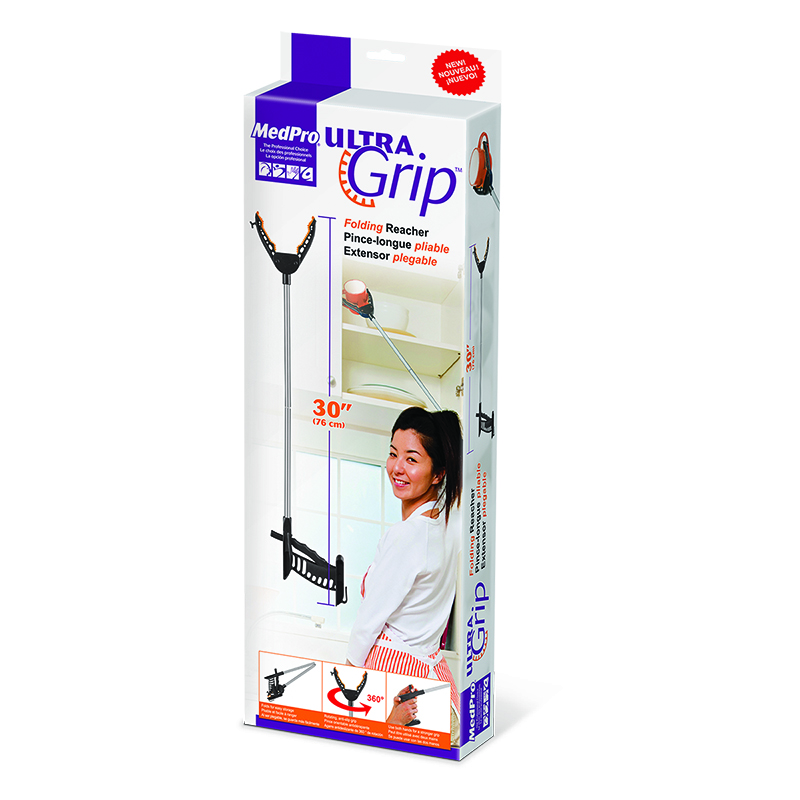 MedPro UltraGrip Folding Reacher - 30inch