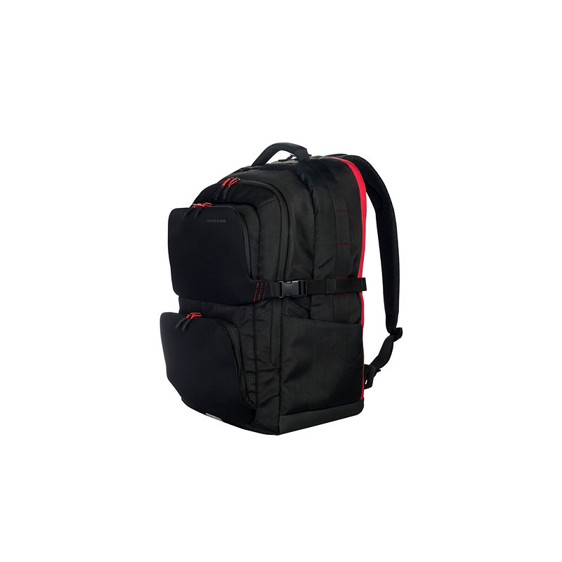 Tucano Sfido Backpack - Black/Red - BSFBK-BK
