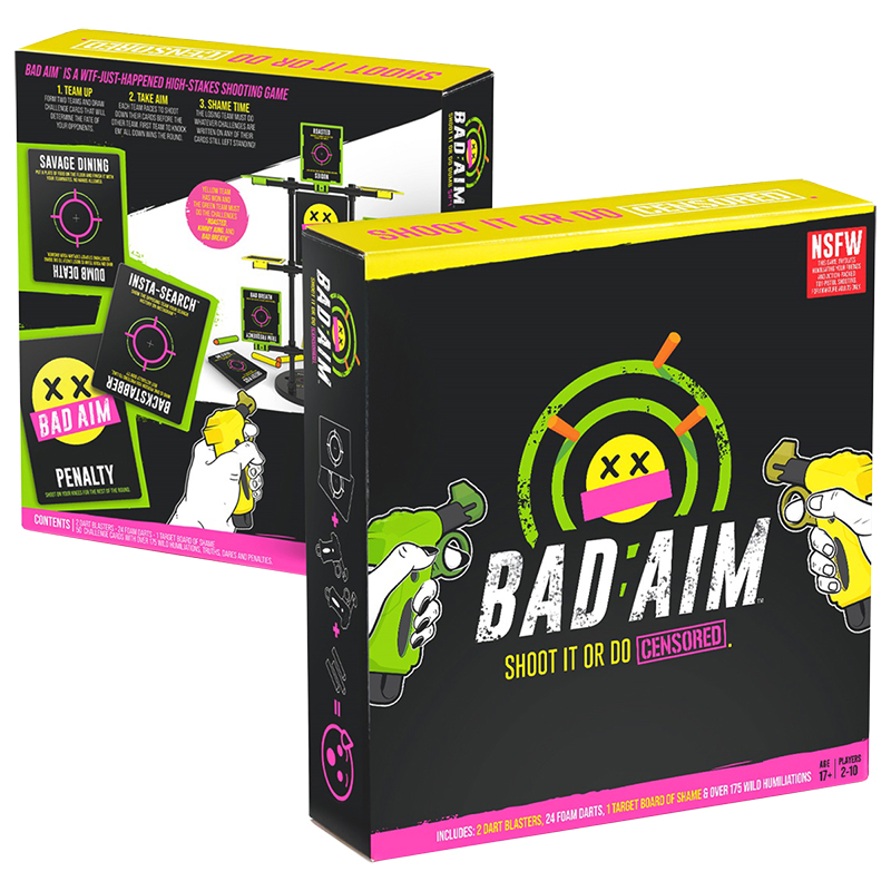 Bad Aim Target Game