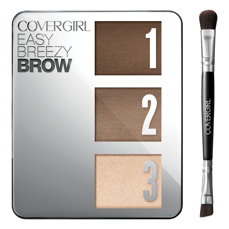 CoverGirl Easy Breezy Brow Powder Kit - Rich Brown