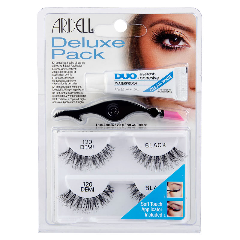 cf413b61982 Ardell Lashes Deluxe Pack - Black - 120 Demi | London Drugs
