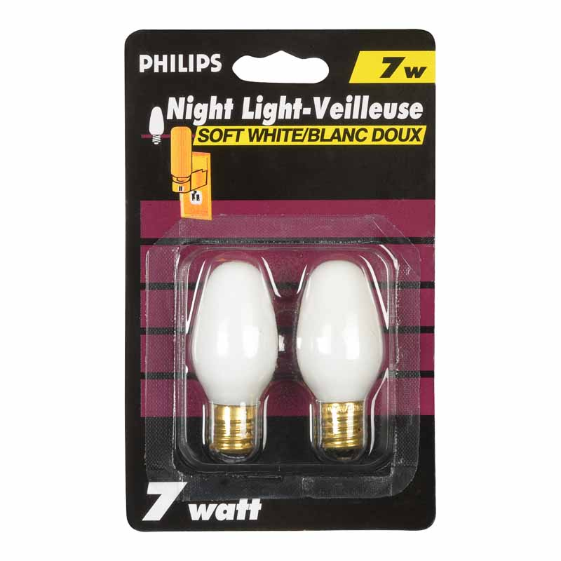Philips Night Light Bulbs - 2 pack
