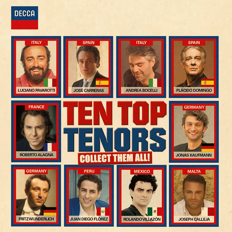 Various Artists - 10 Top Tenors - 2 CD