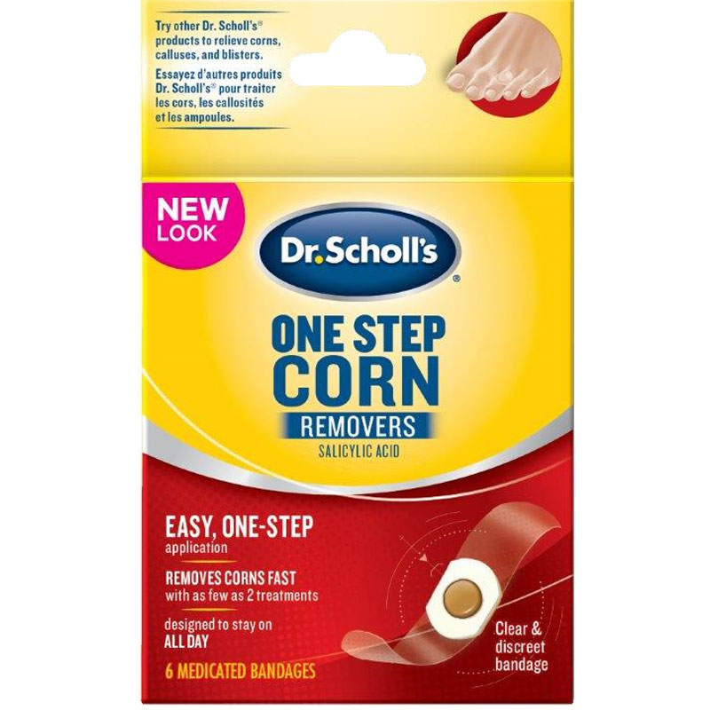 Dr. Scholl's OneStep Medicated Corn Removers
