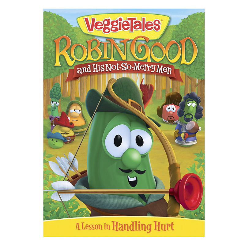 VeggieTales: Robin Good and His Not-So-Merry Men - DVD
