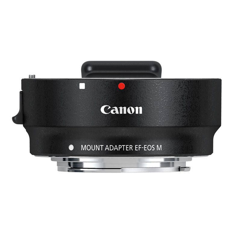 Canon EF-EOS M Mount Adapter - 6098B002 - Black
