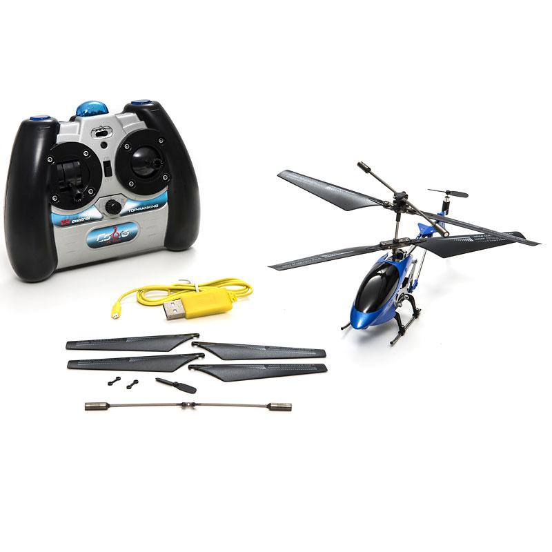 Cobra Special Edition 3.5 Channel Helicopter - Cobalt Blue - 908722