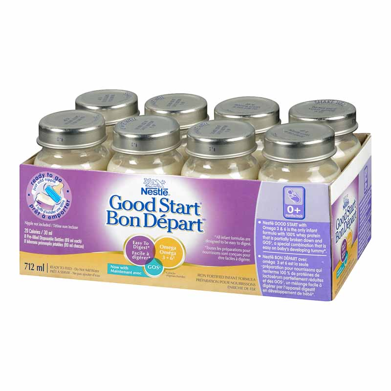 Nestle Good Start with Omega-3 & Omega-6 - Ready to Go - 8x89ml