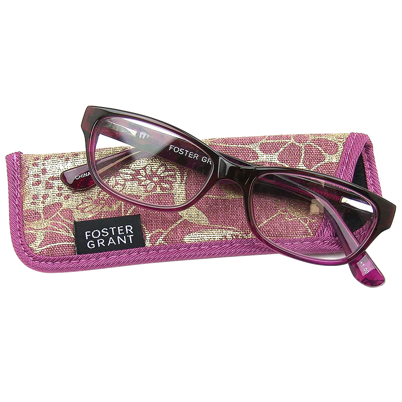 Foster Grant Carletta Pink Reading Glasses - 1.25