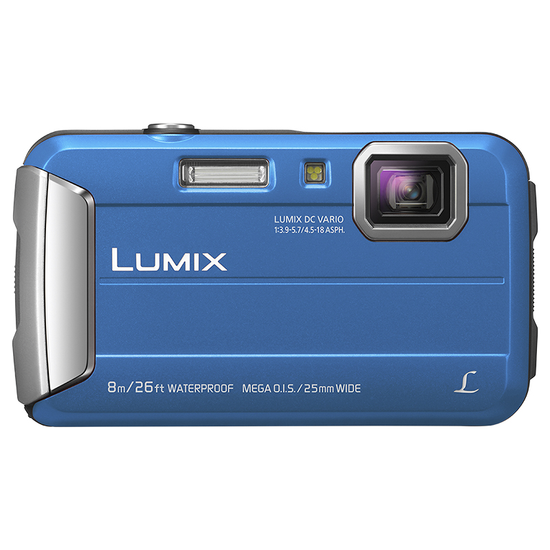 Panasonic LUMIX TS30A Digital Camera - Blue - DMC-TS30A