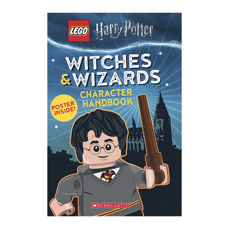 LEGO® Harry Potter Witches & Wizards Character Handbook