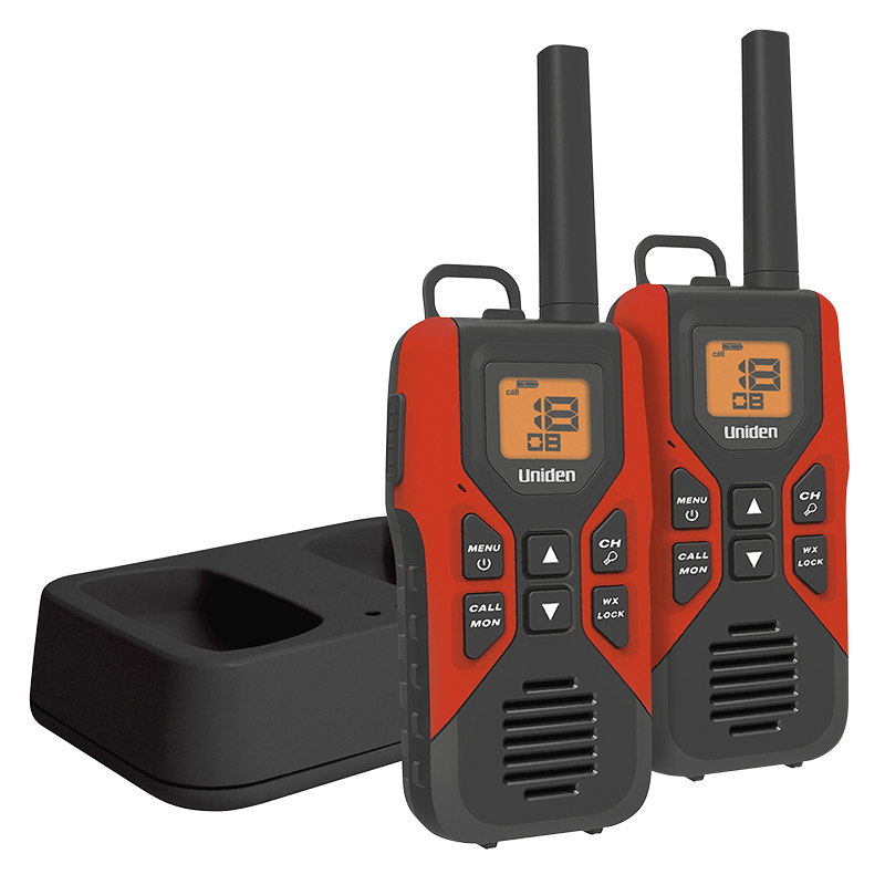 Uniden GMRS Radio 2 Pack - Red - GMR30552CK