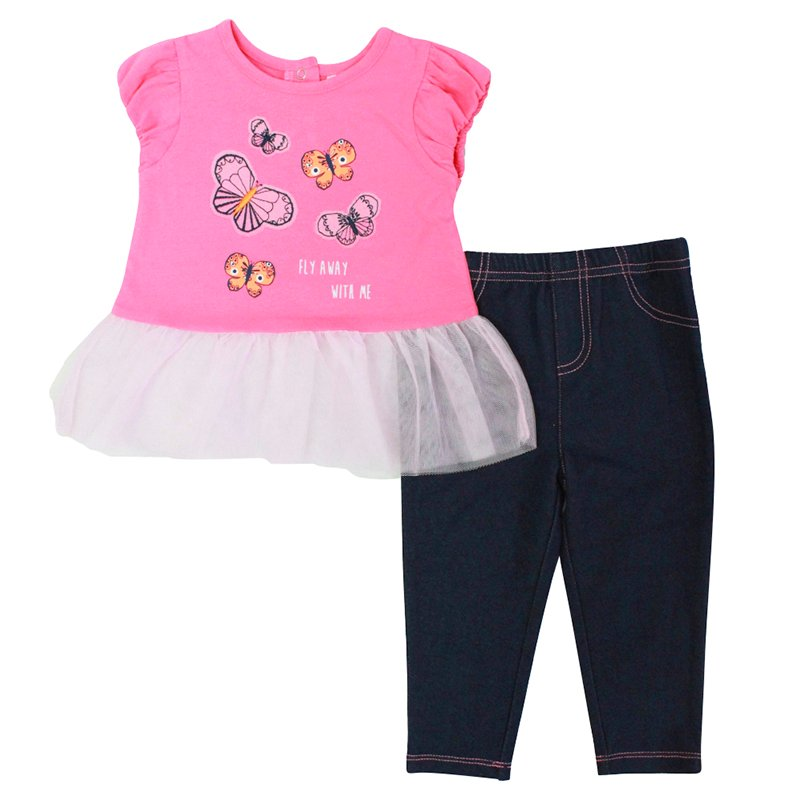 Baby Mode 2-Piece Outfit - Girls - 12-24 months - Assorted