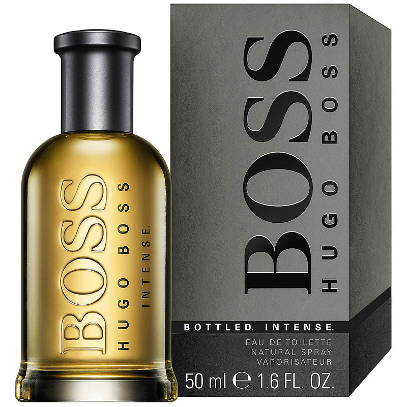 Boss Bottled Intense by Hugo Boss Eau de Toilette - 50ml