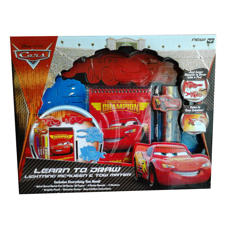 Cars Stationery Set - Assorted